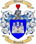 Glassel Family Crest from Germany