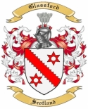 Glassford Family Crest from Scotland