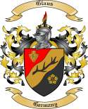 Glaus Family Crest from Germany
