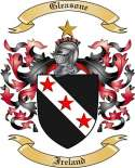 Gleasone Family Crest from Ireland