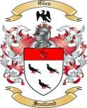 Glen Family Crest from Scotland