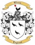 Glenn Family Crest from England