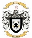 Glenn Family Crest from Scotland