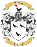 Glenne Family Crest from England