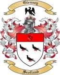 Glenney Family Crest from Scotland