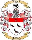 Glennie Family Crest from Scotland