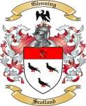 Glenning Family Crest from Scotland