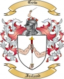 Gow Family Coat of Arms from Ireland