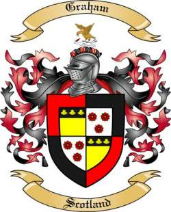 Graham Family Coat of Arms from Scotland