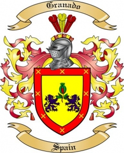 Granado Family Coat of Arms from Spain