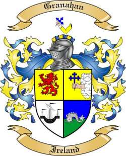 Granahan Family Coat of Arms from Ireland
