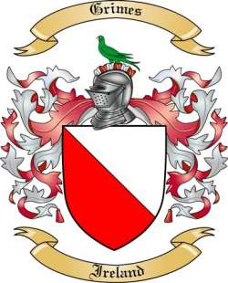 Grimes Family Coat of Arms from Ireland