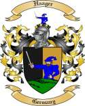 Haager Family Crest from Germany2