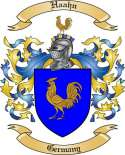 Haahn Family Coat of Arms from Germany