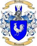 Haahnn Family Crest from Germany2