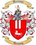 Haammer Family Crest from Germany