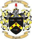 Habbagan Family Crest from England