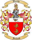 Hache Family Coat of Arms from Ireland