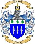 Hackert Family Coat of Arms from Ireland