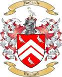 Haderlie Family Crest from England