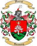 Haerst Family Crest from Germany