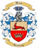 Haes Family Crest from Germany