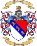 Hafeneder Family Coat of Arms from Germany2