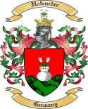 Hafeneder Family Coat of Arms from Germany