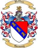 Haffner Family Crest from Germany2