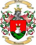 Hafner Family Crest from Germany