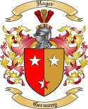 Hager Family Crest from Germany