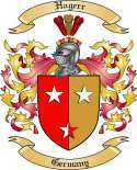 Hagerr Family Crest from Germany
