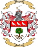 Hagerty Family Crest from Ireland