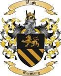 Hagh Family Coat of Arms from Germany