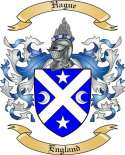 Hague Family Crest from England
