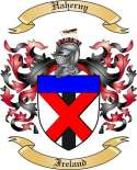 Haherny Family Crest from Ireland2