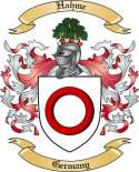Hahme Family Crest from Germany