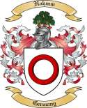 Hahmm Family Crest from Germany