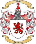 Haid Family Crest from Germany