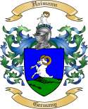 Haimann Family Crest from Germany