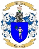Hainley Family Coat of Arms from Germany