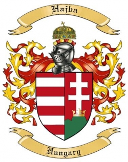 Hajba Family Crest from Hungary by The Tree Maker