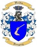 Hajdu Family Coat of Arms from Hungary