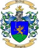 Hajduk Family Coat of Arms from Hungary