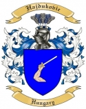 Hajdukovic Family Coat of Arms from Hungary