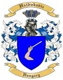 Hajdukovic Family Crest from Hungary