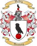 Halbig Family Crest from Germany
