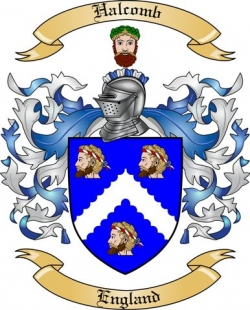 Halcomb Family Coat of Arms from England
