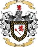 Hales Family Crest from Scotland