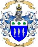 Halkett Family Coat of Arms from Ireland